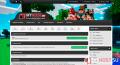Скриншот панели Minecraft