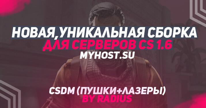 Приватная сборка CSDM для CS 1.6 by Radius